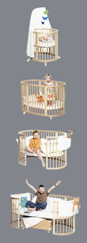 dohnal hochwertige gitterbetten stokke sleepi. Black Bedroom Furniture Sets. Home Design Ideas